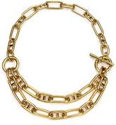 Ben-Amun Ben Amun Short Double-Chain Necklace