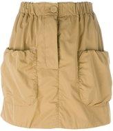 J.W.Anderson patch pocket mini skirt - women - Polyester - 10