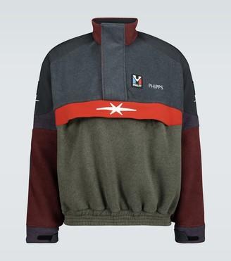 Phipps Fleece oversized sweatshirt
