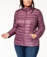32 Degrees Plus Size Packable Down Coat