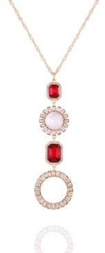T Tahari Holiday Sparkle Pendant Necklace