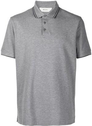 Ermenegildo Zegna Contrast Piping Polo Shirt