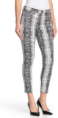 William Rast Perfect Ankle Snake Print Skinny Jeans