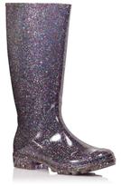 George Glitter Effect Wellington Boots