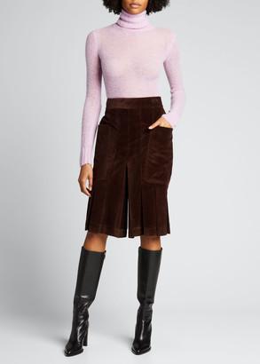 Victoria Beckham Turtleneck Alpaca-Blend Sweater