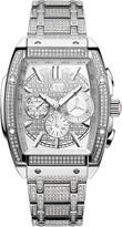 JBW Men's Echelon Platinum Series Pave Diamond Stainless Steel Watch, 41mm - 2.85 ctw