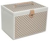 Wolf 'Chloe' Jewelry Box - Beige