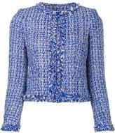 Alice + Olivia Alice+Olivia classic tweed jacket