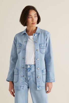 Seed Heritage Relaxed Denim Jacket