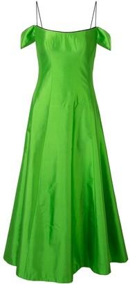 Rasario Off The Shoulder Midi Dress