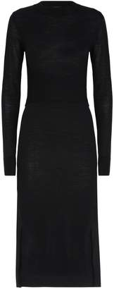 AllSaints Flora Wool Sweater Dress