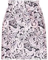 Mary Katrantzou Knee-Length Paisley Print Skirt w/ Tags