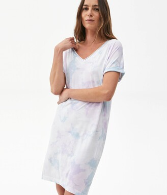 Michael Stars Cara Tie Dyed Dress