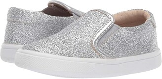 Old Soles Dressy Hoff (Toddler/Little Kid) (Glam Silver) Girl's Shoes