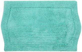 "Home Weavers Inc. Waterford Bath Rug 24""x40"" Turquoise"