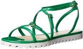 Nine West Women's Sharri Synthetic Gladiator Sandal