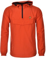 Lyle & Scott Pull Over Anorak Jacket Red