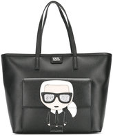 Karl Lagerfeld tote - women - Leather - One Size