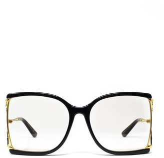 Gucci Oversized Square Frame Glasses