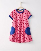 Girls Circle Pocket Dress In French Terry