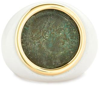 Dubini 18k Emperor Ring, Size 6