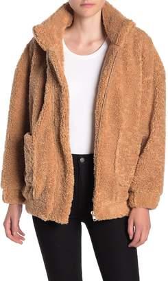 Dress Forum Teddy Faux Shearling Jacket