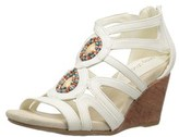 Easy Street Shoes Womens Unity Open Toe Casual Wedged Sandals.
