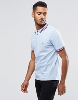 Le Breve Epin Tipped Polo Shirt