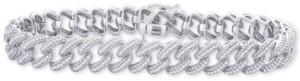 Wrapped In Love Diamond Link Bracelet (1 ct. t.w.) in Sterling Silver