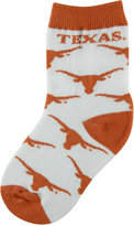 For Bare Feet Toddlers' Texas Longhorns Socks