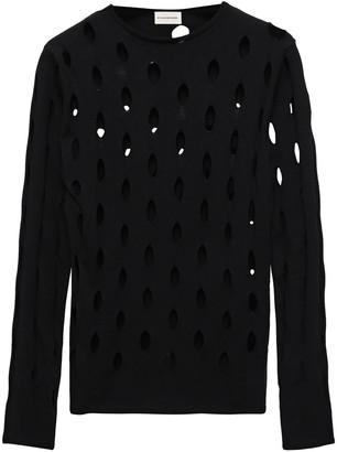 By Malene Birger Laser-cut Knitted Sweater