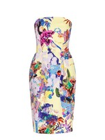Mary Katrantzou Olympia strapless dress