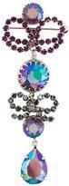 Christian Dior Vintage Crystal Drop B