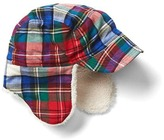 Gap Plaid flannel trapper hat