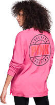 PINK Bling Campus Long Sleeve Mesh Tee