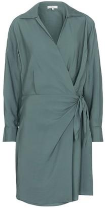 Vince Crepe wrap dress