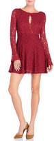 Free People Teen Witch Lace Fit & Flare Dress