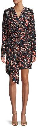 Givenchy Abti Print Silk Sheath Dress