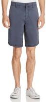 John Varvatos Garment Dyed Slim Fit Shorts