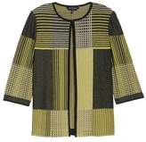 Ming Wang Women's Patchwork Knit Jacket