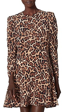 Joie Celyn Long Sleeve Leopard Dress