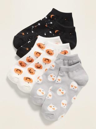 Old Navy Halloween Ankle Socks 3-Pack for Girls