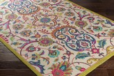 The Well Appointed House Surya Bukhara Colorful Nylon Area Rug with Flowers