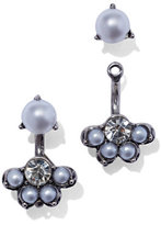New York & Co. Faux Pearl Front/Back Earring