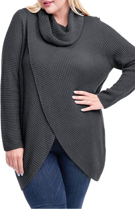 Single Thread Cowl Neck Sweater