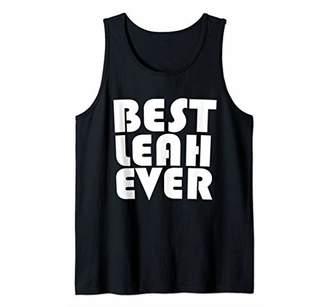 Cute Worlds Best Leah Ever T-Shirt Women Girl Kid Shirt Tank Top