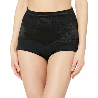 Ahh By Rhonda Shear Women's Jacquard Smoothing Brief
