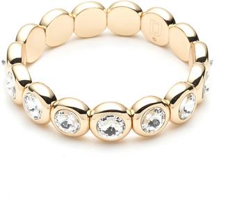 Dannijo Boogie Stretch Bracelet, Gold