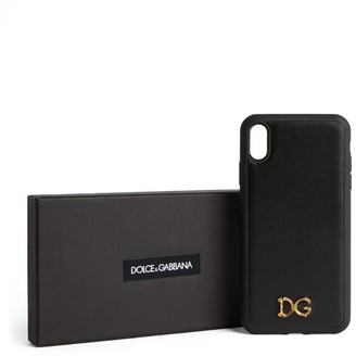 Dolce & Gabbana Leather iPhone XS Max Case