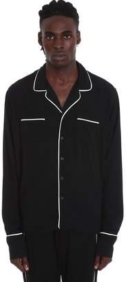 Rhude Pj Shirt Shirt In Black Nylon